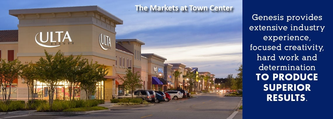 Markets at Town Center Banner